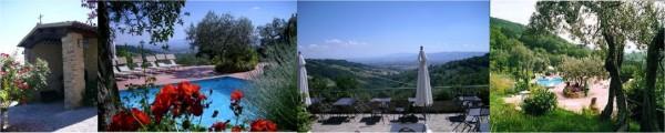 Agriturismo Assisi esterni